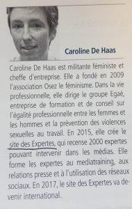 Caroline De HASS – Fondatrice du site Les Expertes